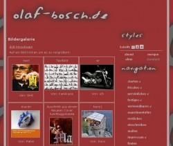 Screenshot interaktive Bilder-Galerie
