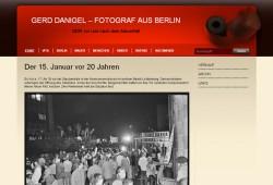 Screenshot von der Seite ddr-fotograf.de