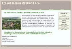Screenshot www.freundeskreis-oberland.de