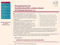 Screenshot www.freundeskreise-landesverband-sachsen.de