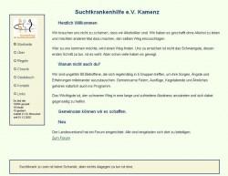Screenshot www.suchthilfe-kamenz.de
