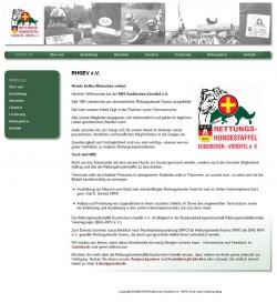Screenshot von der Startseite www.rhs-euskirchen.de